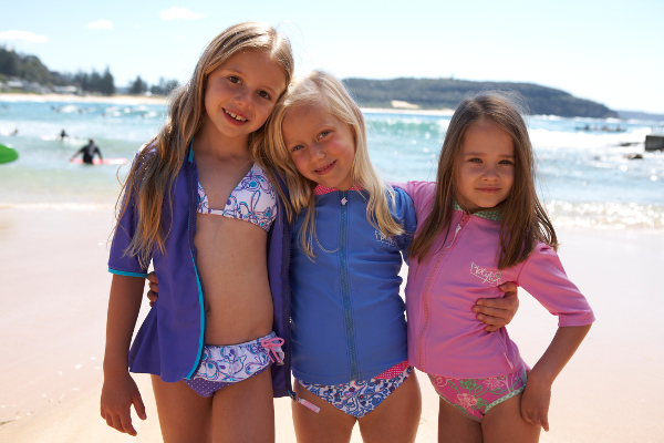 Platypus Australia girls swimwear