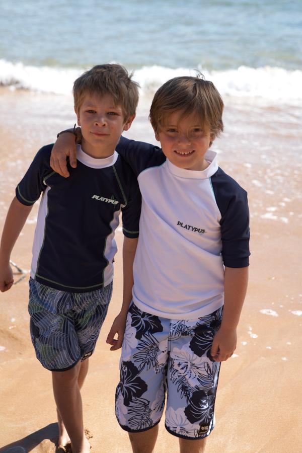 Platypus Australia swimwear rashies boys