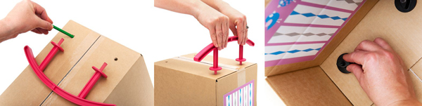 Imaginabox cradle how to web Never be bored with cardboard thanks to Imaginabox
