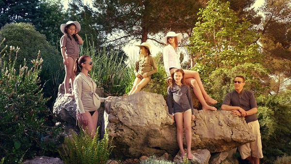 family Fashion friendly Tamarillo sun protection clothing for the whole family
