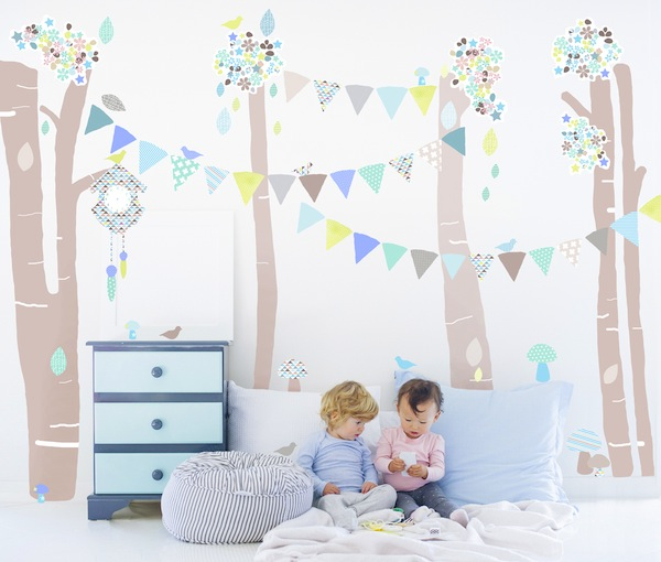 Schmooks wall stickers that go from smart to art for Vinilos infantiles para ninas