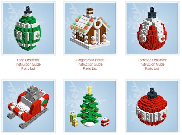 Lego Christmas Decorations