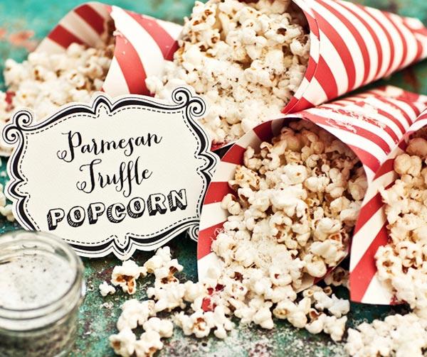 Parmesan truffle popcorn by Katie Quinn Davies