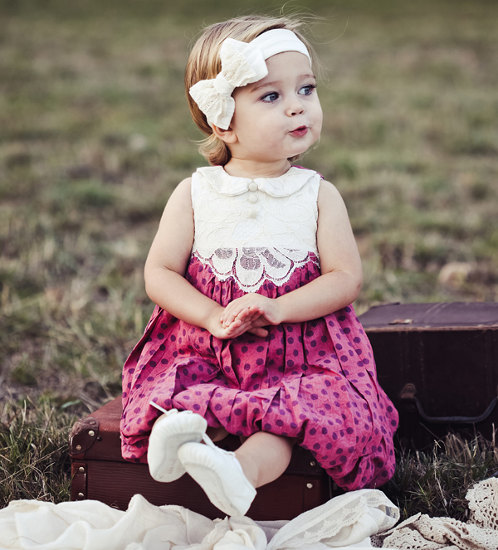 Pink and Grey Boutique girls' dresses