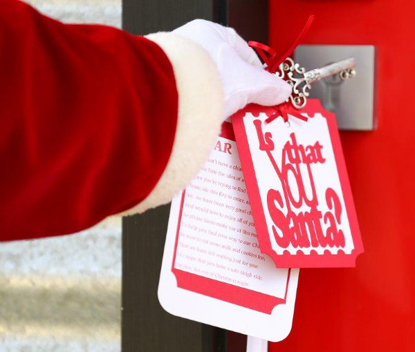 Santa Key from Made with Love unique gift guide