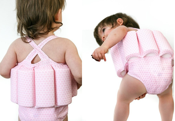 Be Safer By The Water Toddler Swimwear With Built In