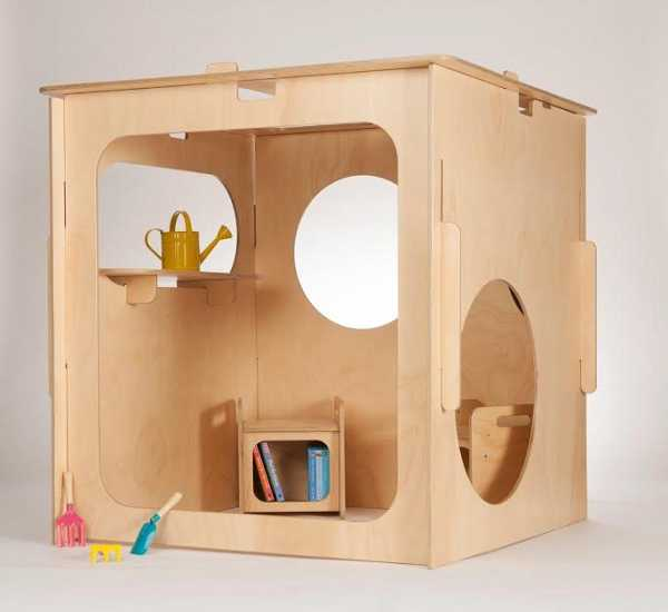 Little Green Room Contemporary Eco Friendly Cubby Houses For Kids
