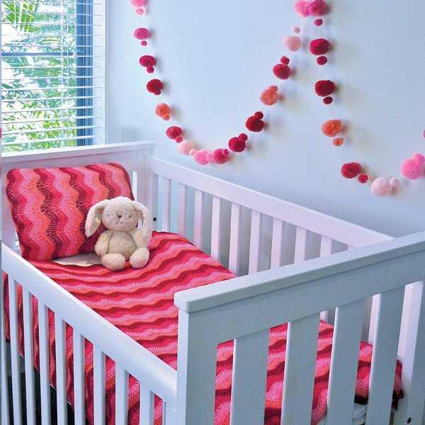 rippleberry Beautiful crocheted baby Ripple Blankets
