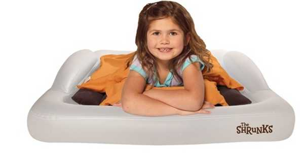 A Comfortable And Cosy Outdoor Toddler Travel Bed From The Shrunks