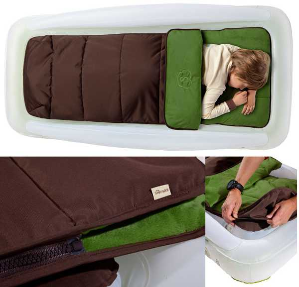A comfortable and cosy outdoor toddler travel bed from The ...