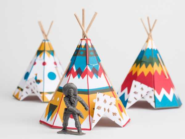 Fancy Folding Mini Teepees For Kids From France