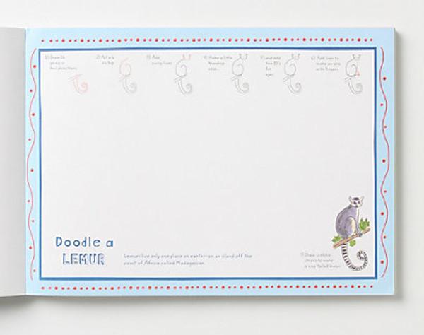 Doodle for dinner - lemur