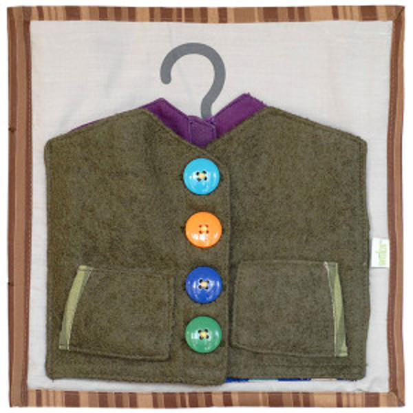 Jacket buttoned up