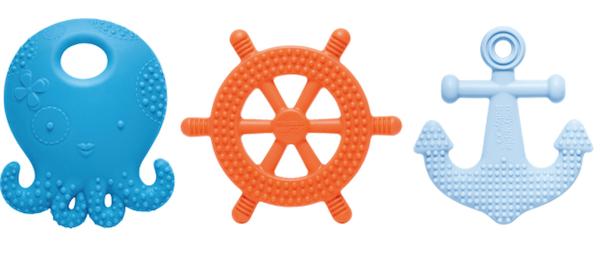 Nautical teething toy