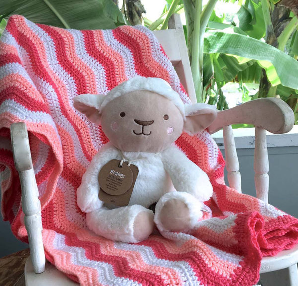 blanket, toy, chair