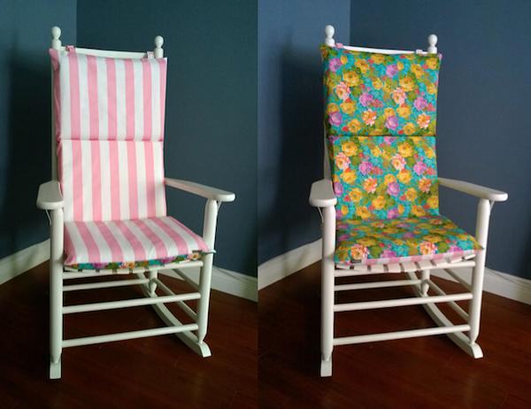 Handmade Rocking Chair Cushions