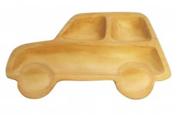 bloume3, car shaped wooden plate
