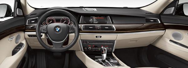 BMW 520 GT Interior
