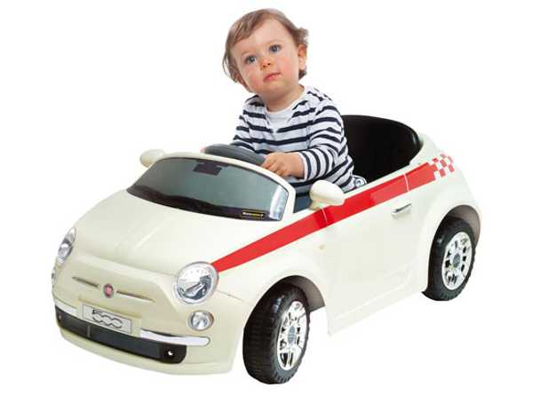 fiat Kids get the ride, but adults are in control of the Motorama Fiat