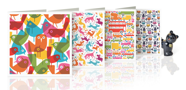 lo cole 2 web Be wrapped with the art   Imaginary Press Lo Cole collection of paper wares
