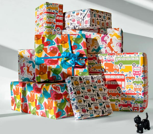 lo cole wrap web Be wrapped with the art   Imaginary Press Lo Cole collection of paper wares