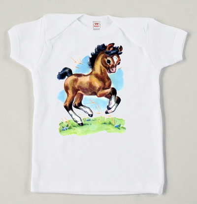Josiekat retro pony child tee