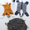 Animal Felt Rugs – hedgehogs, badgers and foxes, oh my!