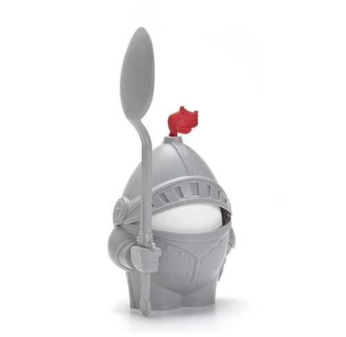 Arthur egg cup suit of armour