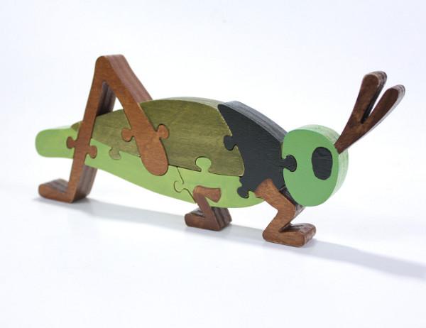 Berkshire Bowls wooden puzzles Etsy, grasshopper puzzle