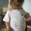 Have wheels, will travel, with the Kids' Car Pocket tee