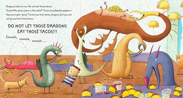 dragons love tacos inside Dragons Love Tacos