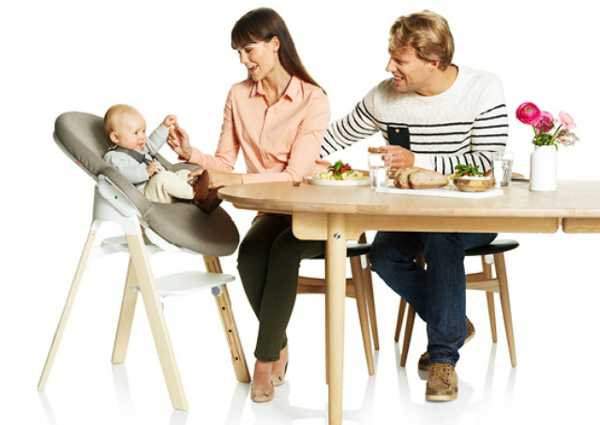 stokkesteps1 Stokke Steps   the all in one, suitable from birth seating system
