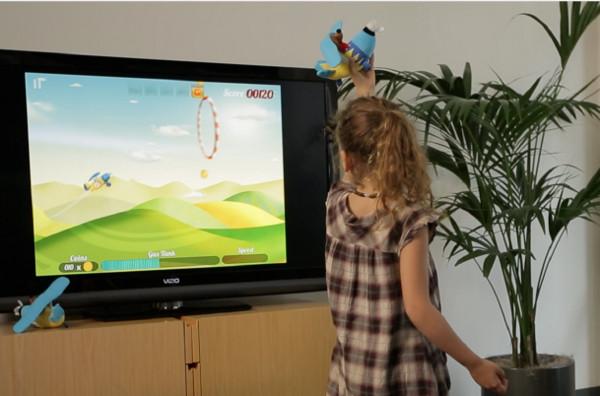Zow Pow Toys Tiny Plane gaming