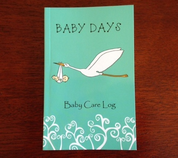 Easy log book for newborns