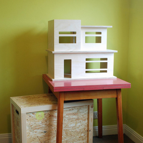 Baines and Fricker doll house
