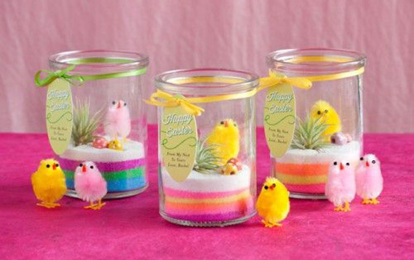 11 fun easter craft ideas for kids mini easter chick terranium stylish easter craft ideas for kids negle Image collections
