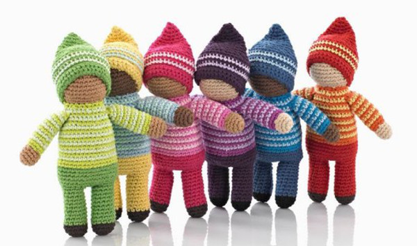 Fair trade Kahiniwalla knitted baby toys creating a way out of poverty