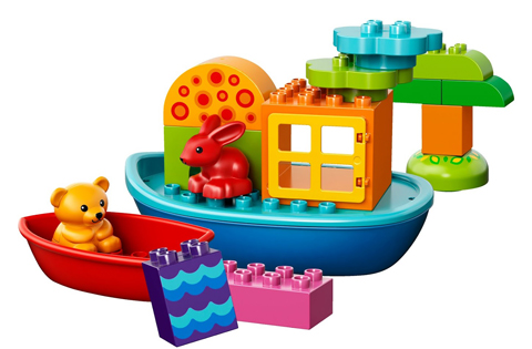 Duplo Toddler Build and Boat Fun