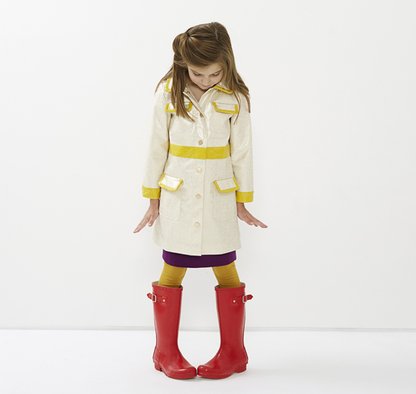 stylish raincoat for girls