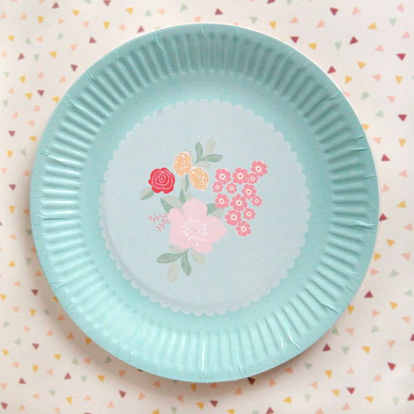 plate_flowerbouquet