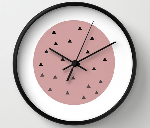 Mothers-day-soft-pink-clock