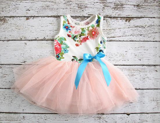 Vintage tulle Easter dress