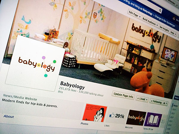 Babyology Facebook page