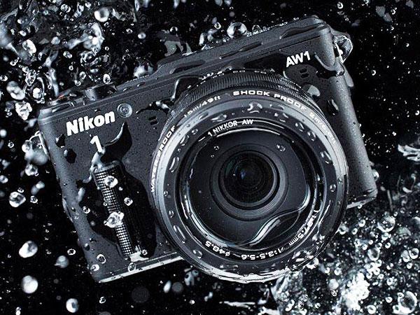 Nikon aw1 underwater camera