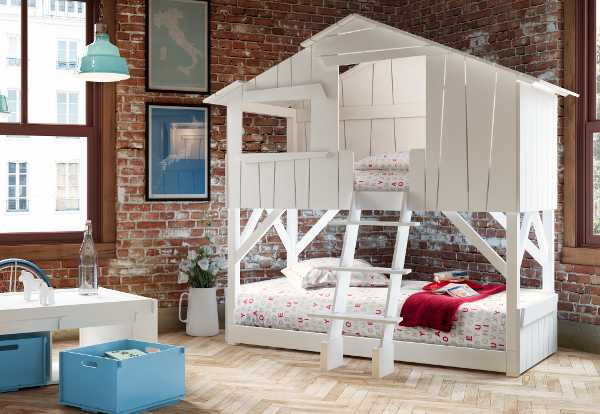 Oliver2, Cool Bunk Bed, Treehouse Bed. Childrenu0027s Bedroom Furniture ...