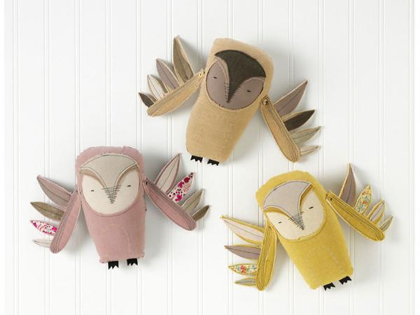 soft toy Owls
