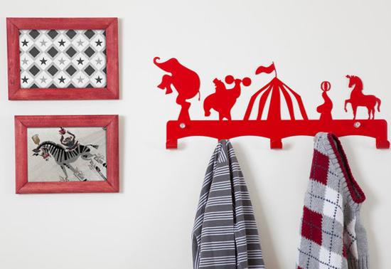 circus coat hanger