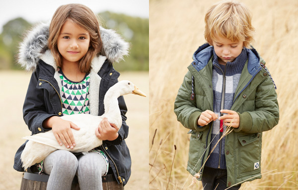 stylish winter coats and jackets for children