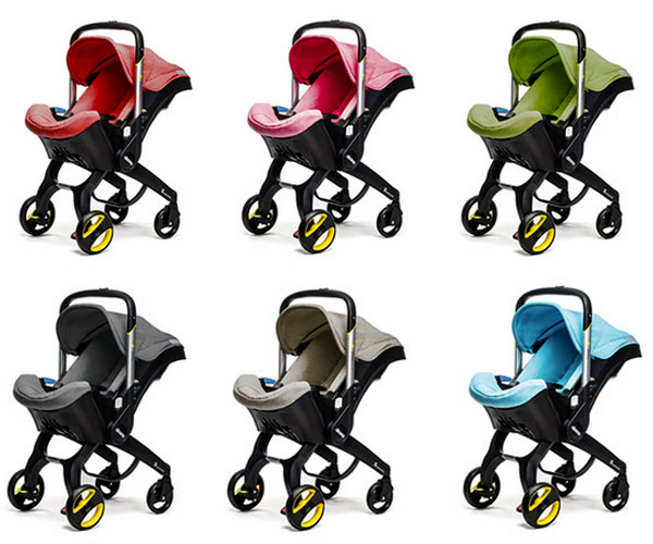 Meet the Doona, the clever child car seat that thinks it's ...