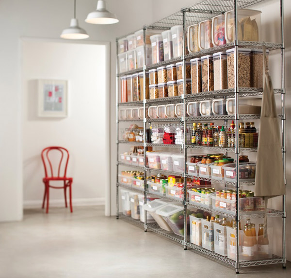 kitchen pantry organising tips